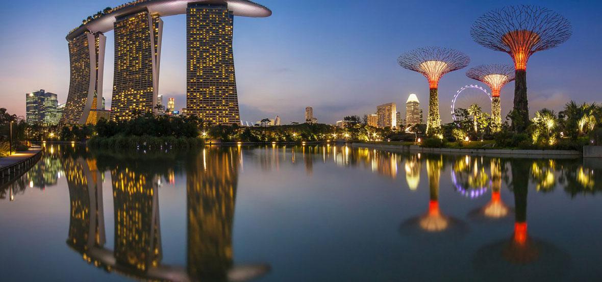 City buildings, Singapore